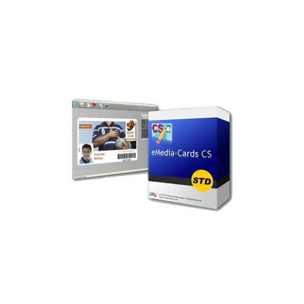 eMedia CS Standard, programvara för plastkort