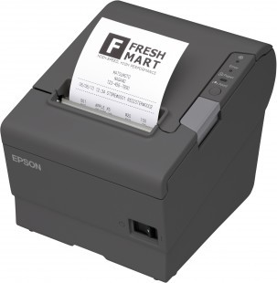 Epson TM-T88V - kvittoskrivare med ethernet, USB och iZettlestöd