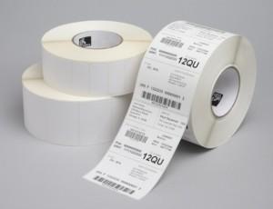 Etikettrulle, Tag utan hål, DT, 102 x 76, d 102 mm, 450 stycken