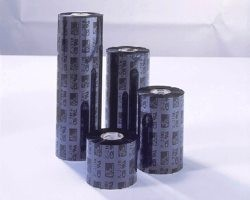 Färgband, 3200 vax/harts, 64 mm x 74 m