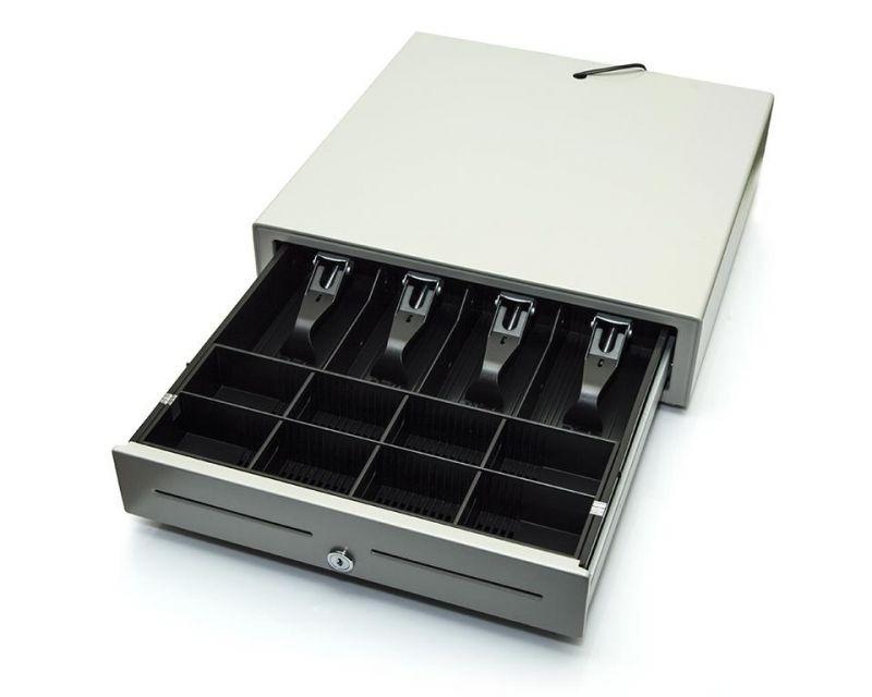 Kassalåda till kassaregister Elcom Euro-200TE, vit