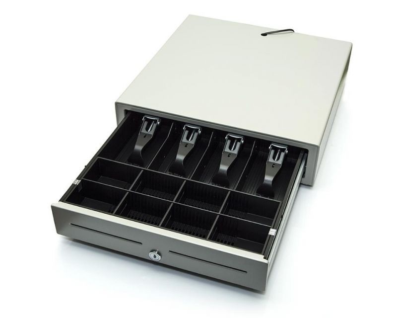 Kassalåda till kassaregister Elcom Euro-500TE, vit