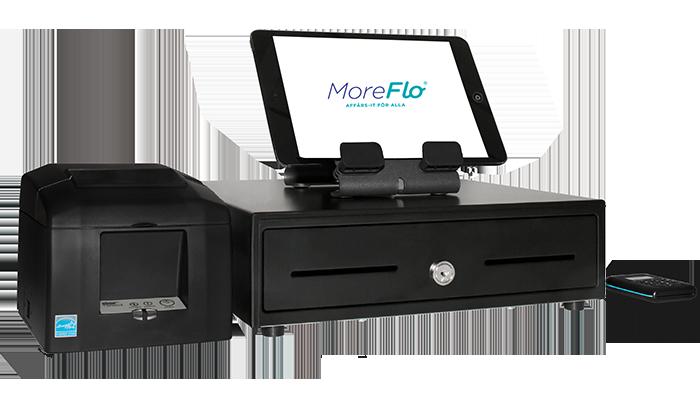 Kassasystem MoreFlo 100