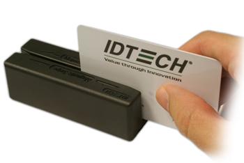 MiniMag Duo Magnetkortläsare, dubbla läshuvuden, USB