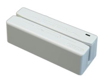 MiniMag Magnetkortläsare med USB, Vit
