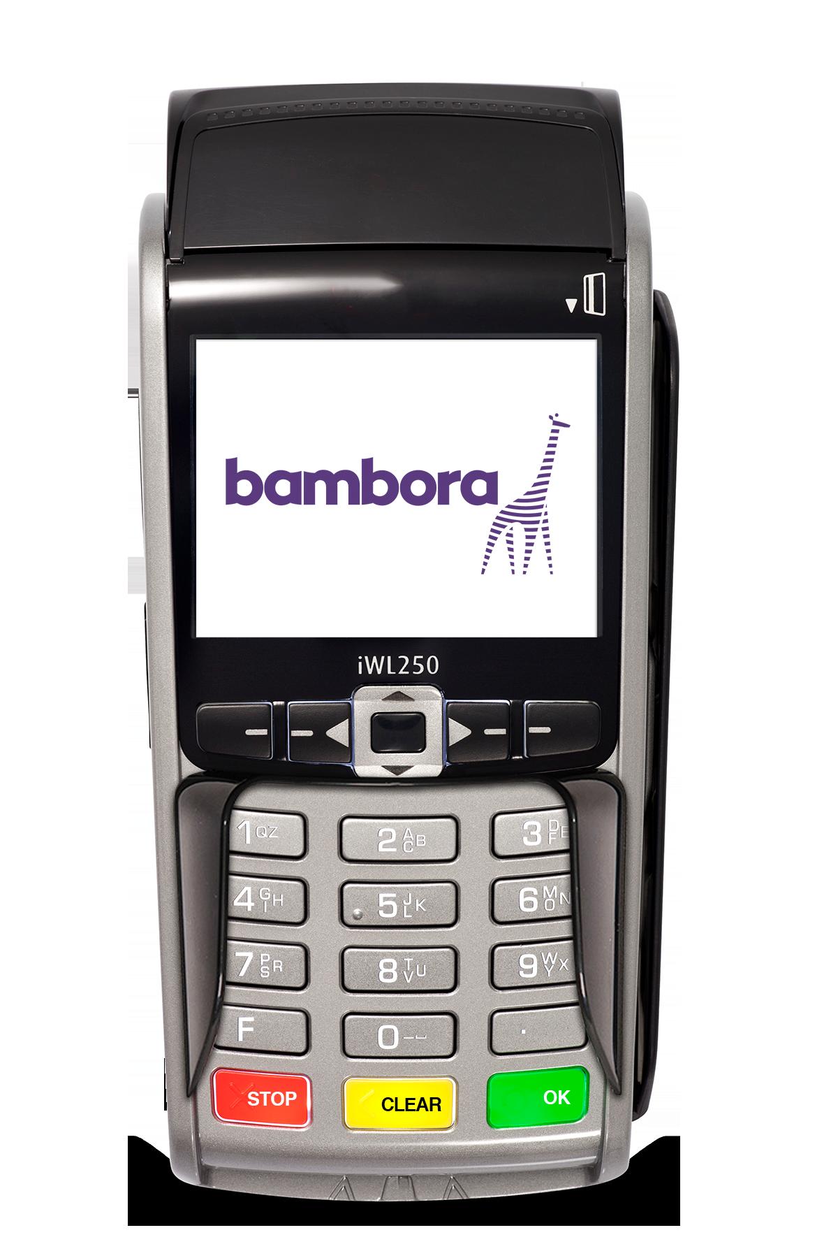 Mobil kortterminal IWL250