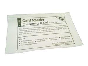 Rengöringskort för kortterminal CR80, 30 stycken