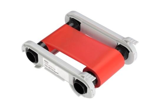 Rött monokromt färgband för Zenius/Primacy, 1000 kort/kassett