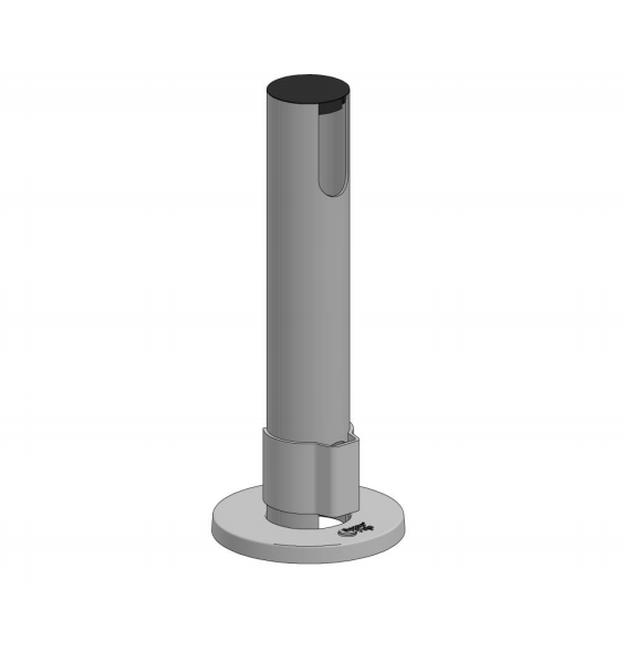 SpacePole, grundstolpe, 400 mm