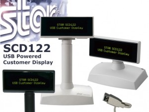 Star SCD122U - kunddisplay med USB