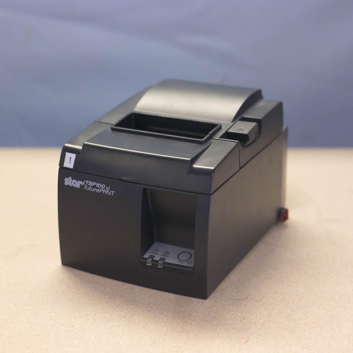 Star TSP143 kvittoskrivare, svart, Power USB, utan kablar-FYNDVARA