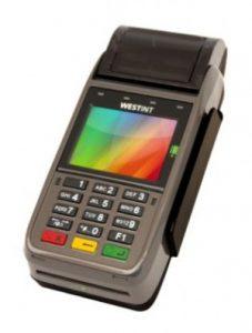 WestInt T103P - mobil kortterminal