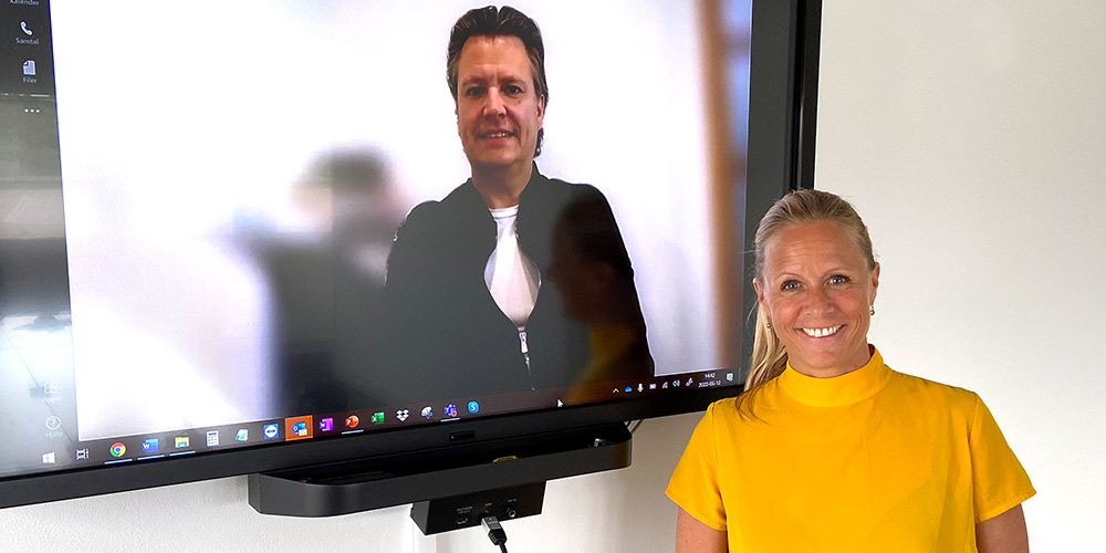 Daniel Höglund och Helena Wiktelius
